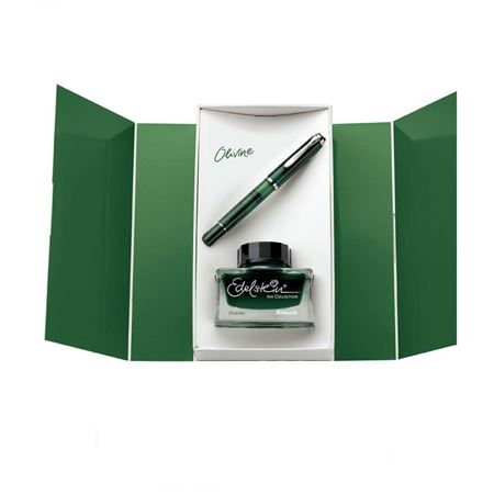 Pelikan Limited M205 Olivine Fountain Pen with Ink