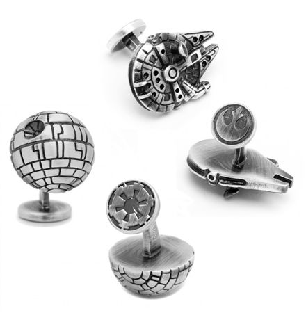 Star Wars 3-D Cufflinks
