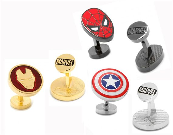 Marvel Shield Cufflinks