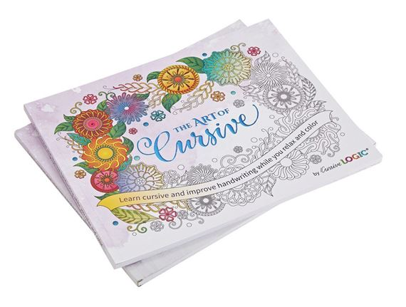 CursiveLogic-The Art of Cursive Coloring Book