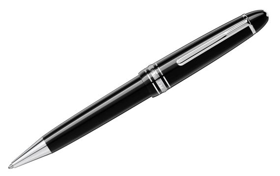 Montblanc Meisterstuck LeGrand Ballpoint Pen with Platinum Trim