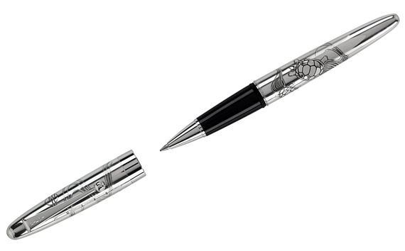 Pilot Sterling Silver Turtles Rollerball Pen