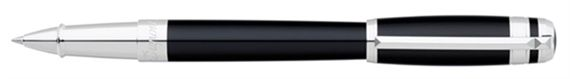 Dupont Line D Placed Rings Chinese Lacquer Rollerball Pen