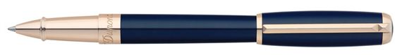 Dupont Line D Blue Lacquer Rollerball Pen