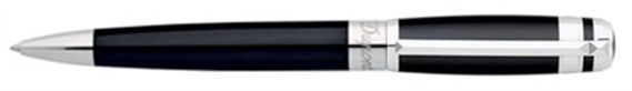 Dupont Line D Placed Rings Chinese Lacquer Ballpoint Pen