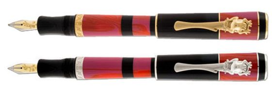 Delta Bribri Indigenous People Piston Fill Fountain Pen