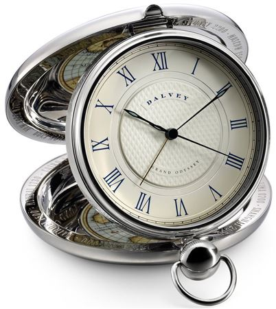 Dalvey Grand Odyssey Stainless Clock