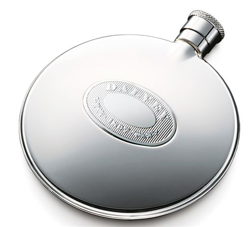 Dalvey Stainless Classic Compact Flask