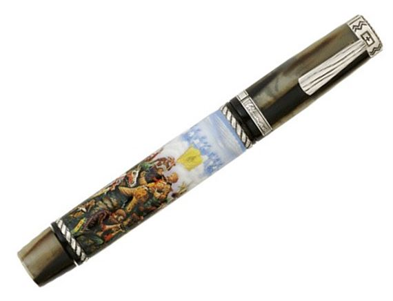 Krone Limited General Custer Sterling Fountain Pen