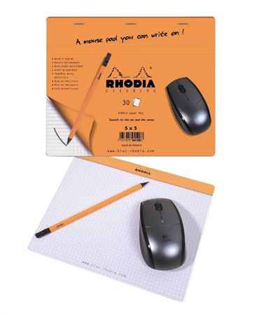 Rhodia Mousepad Notebook
