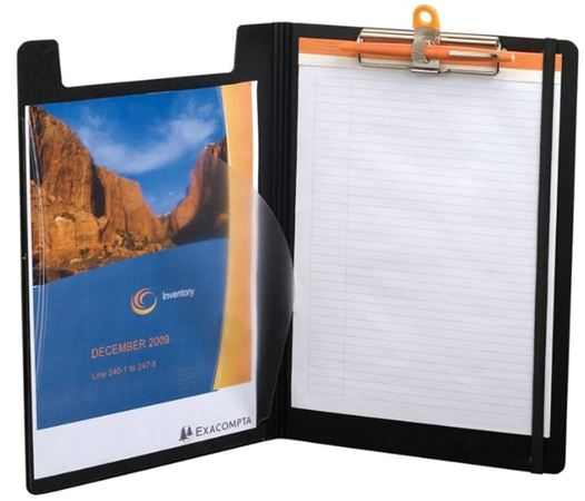 Exaclair Exaboard Clipboard With Rhodia Lined Tablet