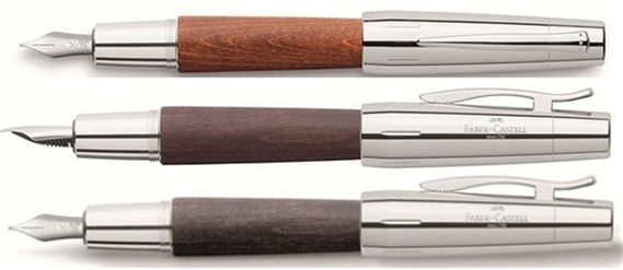 Faber-Castell E-Motion Wood Fountain Pen