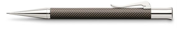 Graf Von Faber-Castell Brown Guilloche Ciselé 0.7mm Pencil