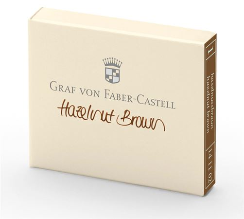 Graf Von Faber-Castell Ink Cartridges 6 Pack