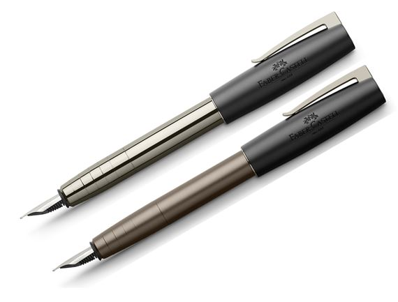 Faber-Castell Gunmetal Loom Fountain Pen