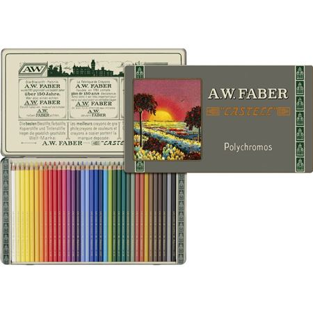 Faber-Castell 111th Anniversary Color Pencils Tin 36 Set