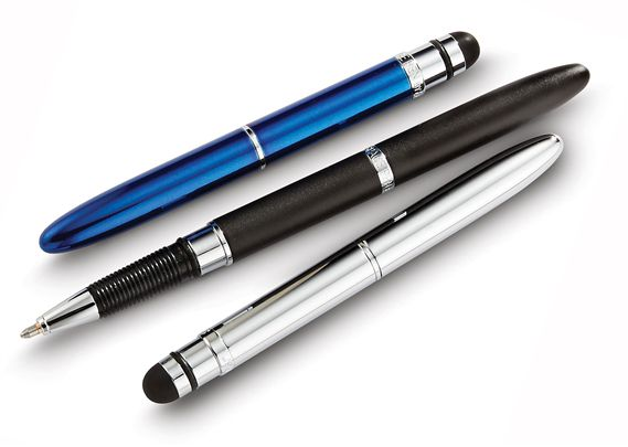 Fisher Bullet Grip Space Ballpoint Pen with Stylus