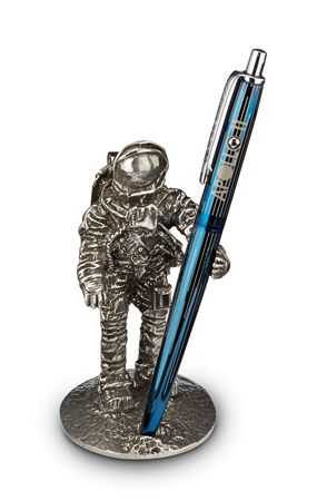 Jac Zagoory Astronaut One Giant Step Pen Holder