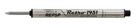 Retro 51 Short Capless Rollerball Pen Refill 2 Pack