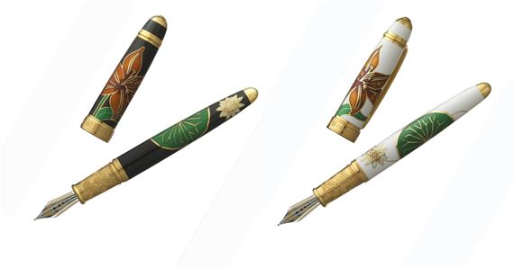 David Oscarson Lily Limited Edition Fountain Pen