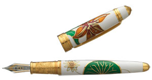David Oscarson Lily Limited Edition Rollerball