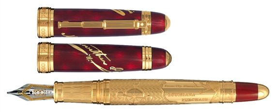 David Oscarson Meriwether Lewis Limited Edition Fountain Pen