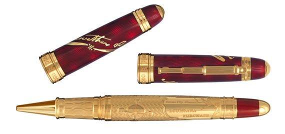 David Oscarson Meriwether Lewis Limited Edition Roller Ball