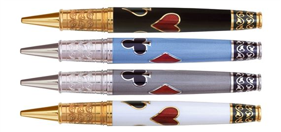David Oscarson Les Quatre Couleurs Limited Edition Roller Ball