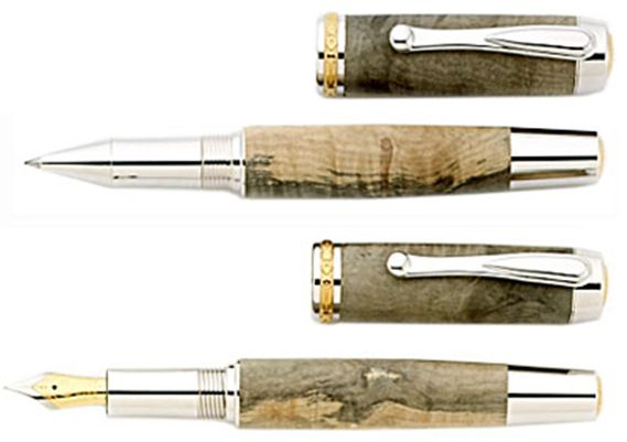 Historical Woods Washington Horse Chestnut Tree Fountain Pen
