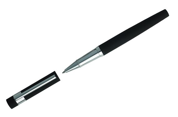 Hugo Boss Loop Black Rollerball Pen