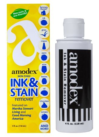 Amodex Stain Remover 4oz Bottle