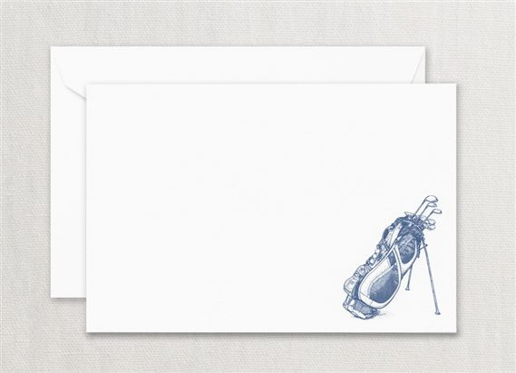 Crane Golf Bag Correspondence Card 10/10