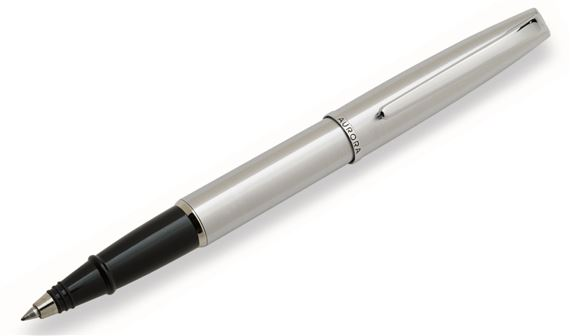 Aurora Style All Chrome Rollerball Pen