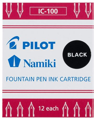 Pilot Ink Cartridges 12/Pack