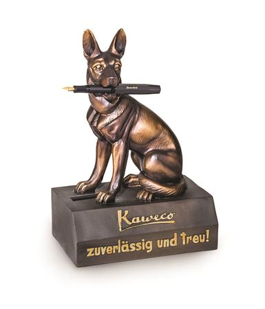 Kaweco German Shepherd Bank Pen Stand