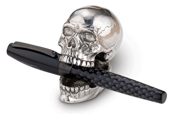 Jac Zagoory Designs Laugh Out Loud Skull Pen Stand