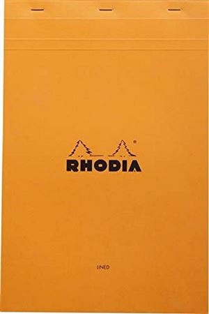 Rhodia 8 1/4 X 12 1/2 Lined With Margin
