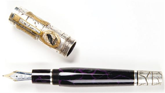 Krone Limited Edition Edgar Allan Poe Fountain Pen
