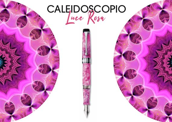 Aurora Limited Edition Caleidoscope Luce Rosa Fountain Pen