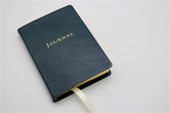 Graphic Image Special 4x6 Journal - Soft Cover Navy