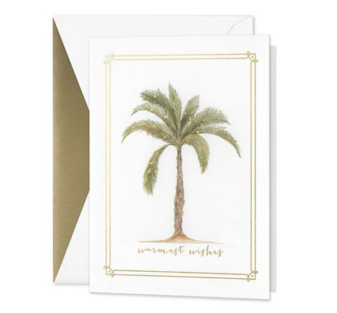 Crane William Arthur Festive Palm Tree Greeting Cards 10/10
