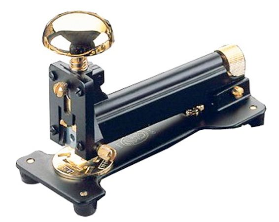 El Casco Black and Gold Stapler
