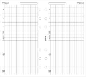 Filofax Personal Finances Sheets