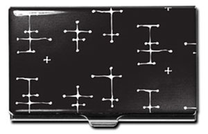ACME Eames Inspired Black Dots Card Case