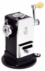 El Casco Black and Chrome Pencil Sharpener