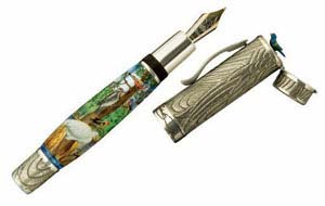 Krone Limited Audubon Fountain Pen