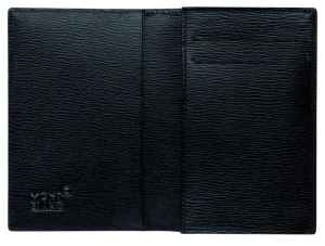Montblanc Westside Leather Business Card Holder