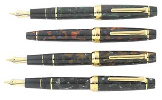 SAILOR PROFESSIONAL GEAR MOSAIC FOUNTAIN PEN