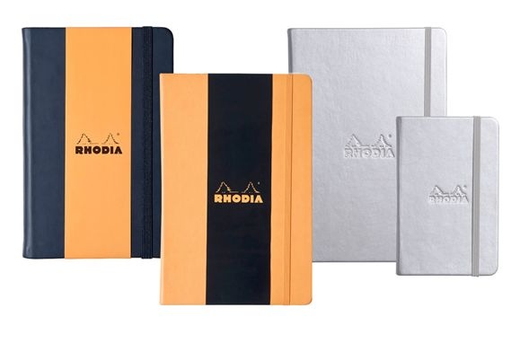 Rhodia Rhodiarama Colors Lined 3 x 5 Webnotebook