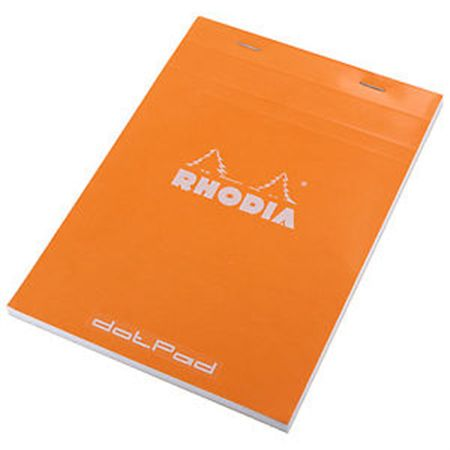Rhodia Dot Pad 6 x 8 1/4 Orange